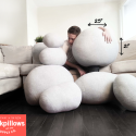 Rock Pillows- These are pillows that look like rocks!