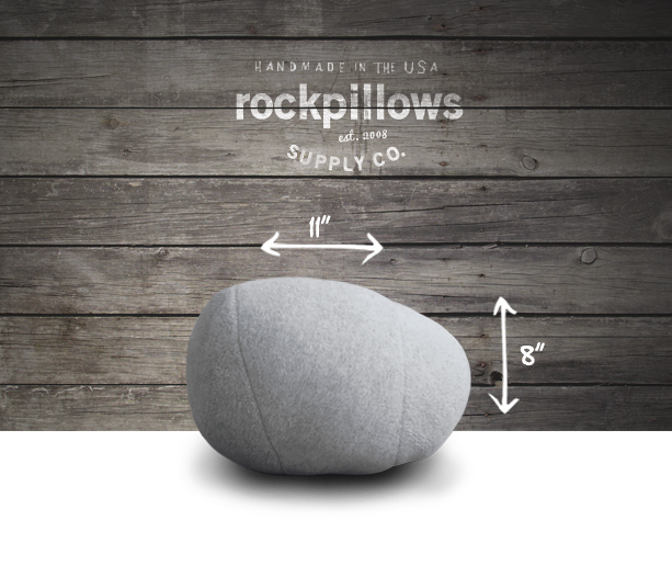 rock pillow pebble