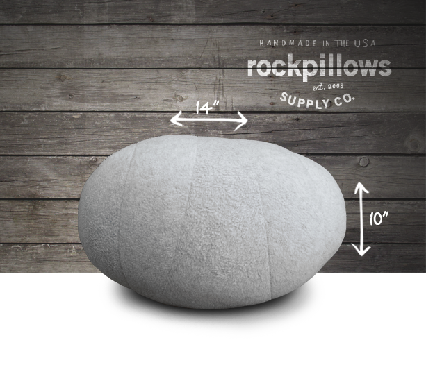 river rock pillows