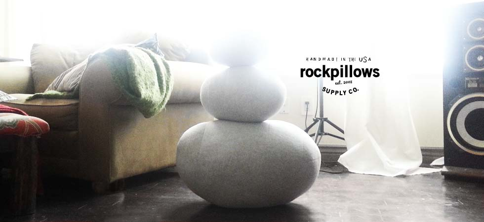 Zen Rock Pillows